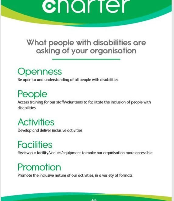 Sports Inclusion Disability Charter
