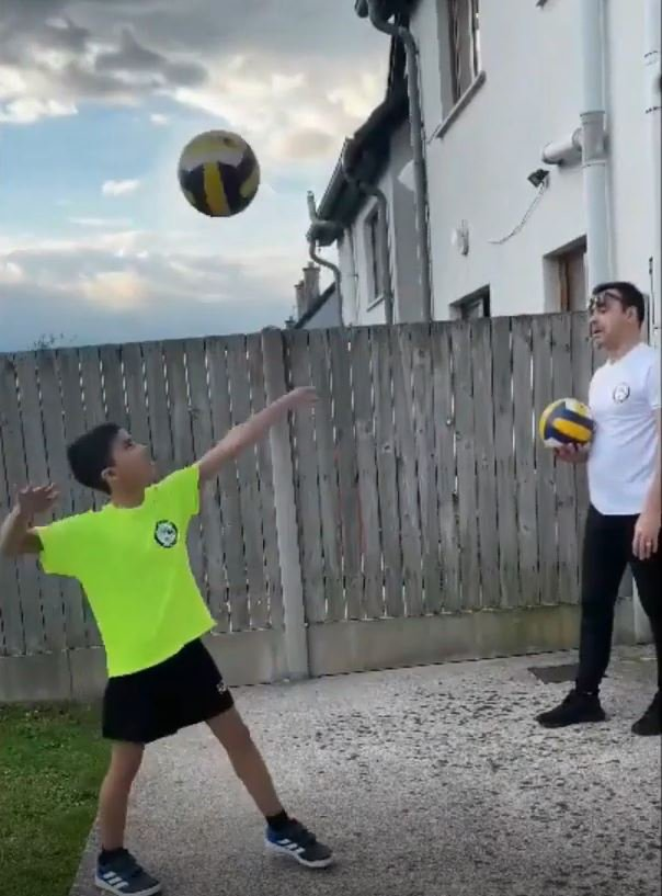 Volleyball at Home