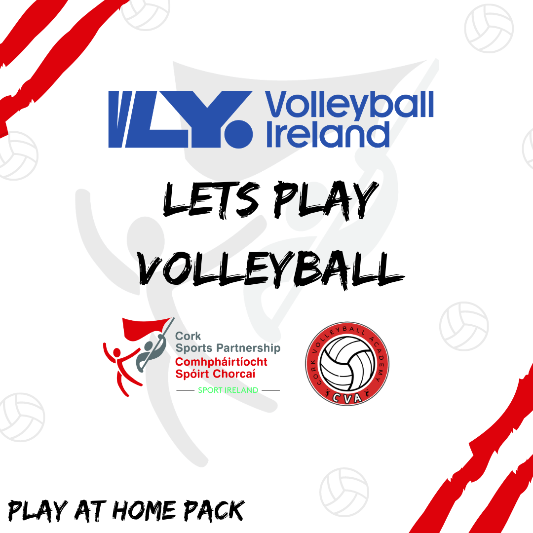 Lets Play Volleyball - Play at home pack