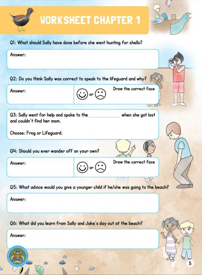 Sally Book - Worksheet Chapter 1