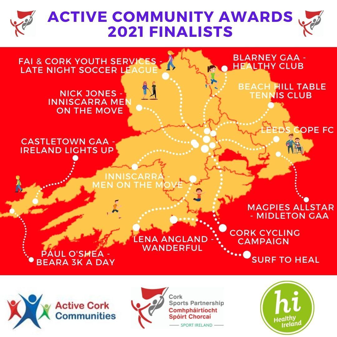 Active Community Awards 2021 Finalists