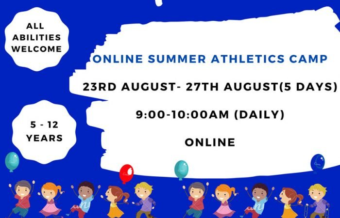 Online Summer Athletics Camp 2021
